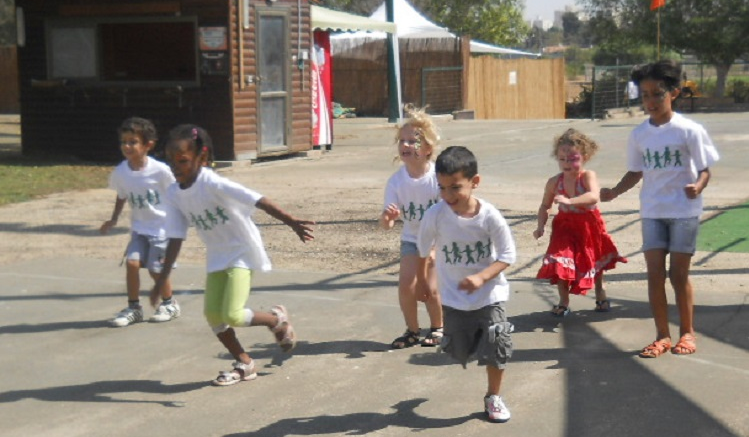 Running at Jeremy's Circle Event