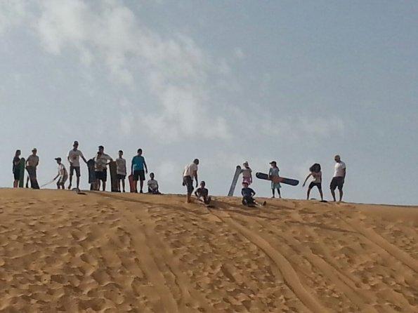 Jeremy's Circle Teen Sandboarding