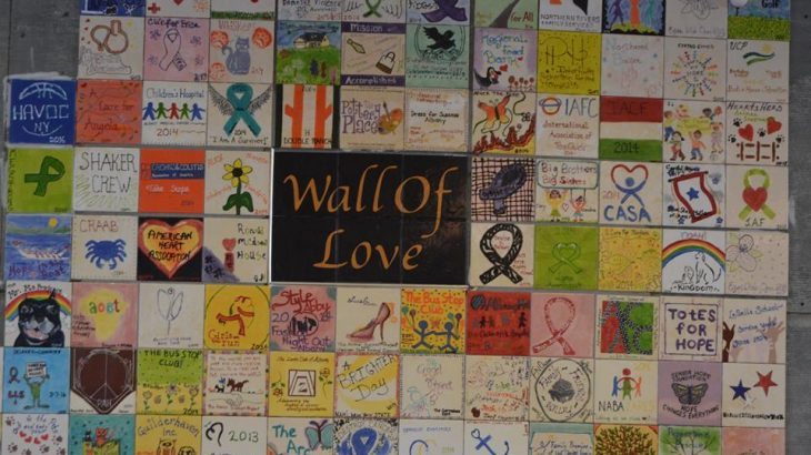 wall of love